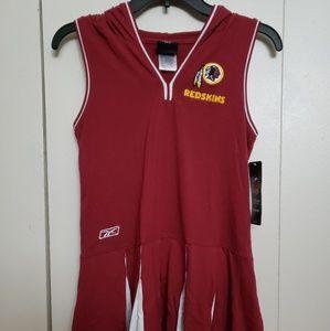 Reebok RedSkins Burgundy Cheerleader Dress